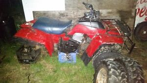 Honda Four Trax 250 Engine and accessories