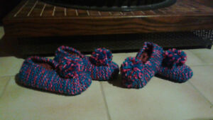 Cozy Knitted Slippers, etc!!