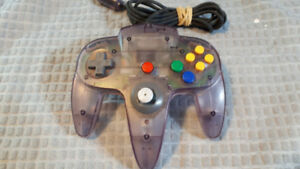 NINTENDO 64 ATOMIC PURPLE CONTROLLER ORIGINAL