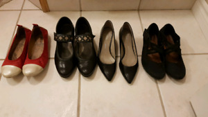 Women's name brand shoes size 6-7