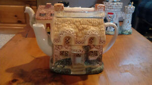 3 Collector Tea Pots from England Cambridge Kitchener Area image 3