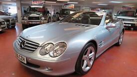 2006 MERCEDES BENZ SL SERIES SL 350 Tip Auto Sat Nav Full Leather Sport Seats