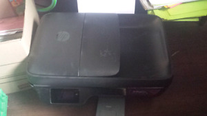 HP printer all in one like new incl ink $25