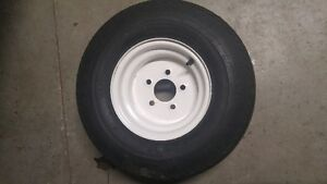 Trailer wheels 20.5 X 8.0 for trade for smaller wheels