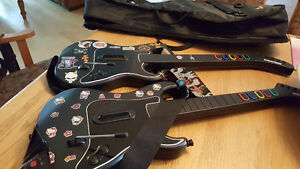 PS3 Guitar Hero Guitare Guitar Manette Controle Avec Etuit Sac