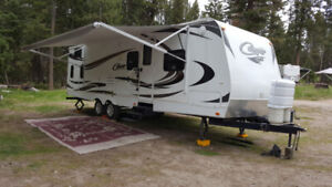 30' Keystone Cougar Travel Trailer FOR RENT