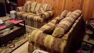 LOVESEAT, SOFA AND CHAIR