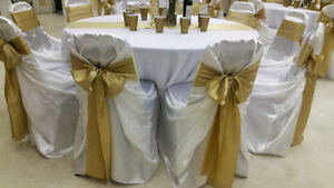 Tablecloth Rentals | Runners | Table Skirts | Napkins | Sashes!