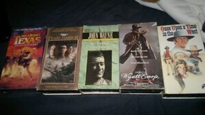Collectors VHS Movies All Star Hits Combo.. CassetteTapes etc.