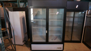 True 2 Door Glass GDM-49 Commercial Refrigerator