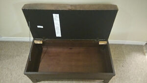 Canadian Made Leather Top Footrest and Storage Box Kitchener / Waterloo Kitchener Area image 3