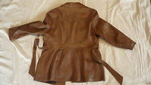 Ladies Leather Coat Peterborough Peterborough Area image 3