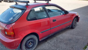 1996 Honda civic  sale is pending. When  sold it will be deleted