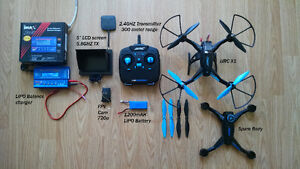 JJRC X1 Brushless Quadcopter\Drone with FPV Cam kit Stratford Kitchener Area image 2