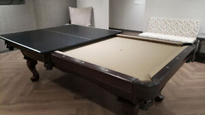 Brunswick - Table Tennis Table Top & Caddy