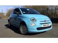 2016 Fiat 500 1.2 Pop 3dr Manual Petrol Hatchback