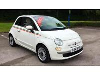 2014 Fiat 500 1.2 Lounge (Start Stop) with G Manual Petrol Hatchback