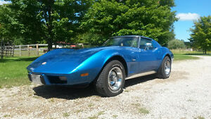 "1976 Corvette Stingray- Certified - ""New Price"""