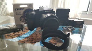 Panasonic LUMIX DMC-FZ1000 and accessories