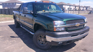 2004 2500 Duramax new trans and t-case