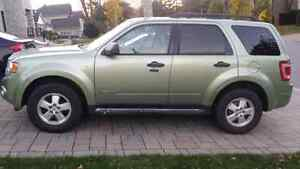 2008 ford escape xlt full load