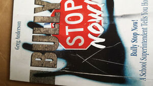 Stop Bully Now book by Greg Anderson