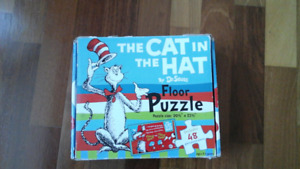 48 piece The Cat in The Hat floor puzzle