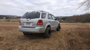 2006 kia sorento 4x4 low kms