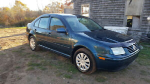 2001 Jetta 4 door sedan. Inspected till next sept.