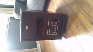 Garrison 4-1 1500W Infrared Heater With USB & 3 Prong
