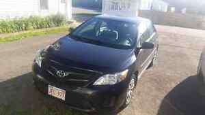 2012 Toyota corolla lease take over 11 Months will pay fees!!