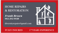 FULLY INSURED SIDING REPAIRS, 17 YEARS EXPERIENCE.