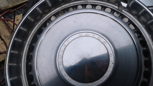 """14""""metal vintage  hub caps. Chevy  1966-1969 Impala,"""