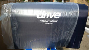 Drive Therapeutic 5 Zone Support Mattress - Single Brand NEW