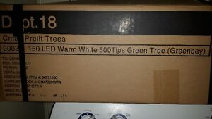 7 ft pre lit christmas tree