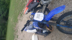 2001 ttr 125 looking to trade for bigger bike or race quad