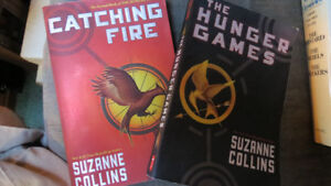 The Hunger Games books(2)