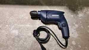 """Mastercraft 3/8"""" Electric Corded Drill Perceuse Electrique Cord"""