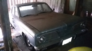 1966 Plymouth Valiant 4 door