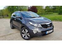 2013 Kia Sportage 1.7 CRDi 3 2WD 5dr 1 Owner From New Great Spec New MOT