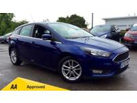 2015 Ford Focus 1.6 125 Zetec (Nav) Powershift Automatic Petrol Hatchback