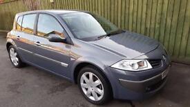 Renault Megane 1.5dCi 6sp Dynamique. VERY LOW MILEAGE. FSH. WARRANTY. £30 TAX.