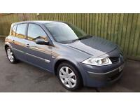 Renault Megane 1.5dCi 6sp Dynamique. VERY LOW MILEAGE. FSH. WARRANTY. £30 TAX.