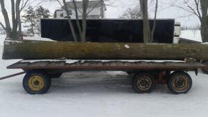 Elm Log For Milling