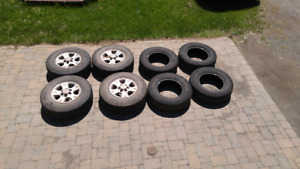 Goodyear and Firestone 245/70R16 tires
