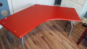 Orange unique multi purpose table