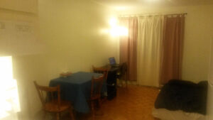 Furnished bachelor apt. in downtown Montreal, 560$ a month