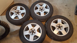 """VW 15"""" Factory Rims and Tires 5 x 100"""