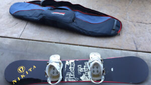 Snowboard and binding for sale