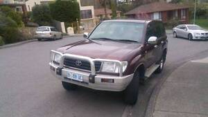 1998 100 105 series Toyota LandCruiser Wagon petrol Hobart CBD Hobart City Preview